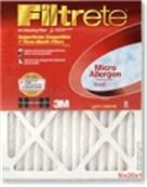 1000-20X25X1 MPR 1000 Micro Allergen Pleated Air Filter from USHomeFilter