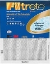 US Home Filter carries the replacement Filtrete 16 x 24 x 1 MPR 1500 Ultra Allergen Pleated Air Filter: 1500-16X24X1.