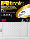14 x 25 x 1 MPR 2200 Elite Allergen Pleated Air Filter 2200-14X25X1 from USHomeFilter