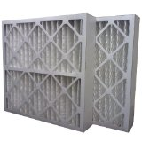 12 x 24 x 4 MERV 13 Pleated Air Filter-0