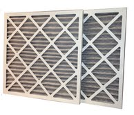 14 x 36 x 1 MERV 8 Odor Control Pleated Air Filter-0