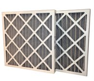 24 x 30 x 2 MERV 11 Odor Control Pleated Air Filter-0