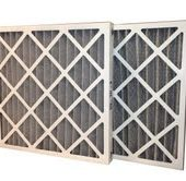 20 x 24 x 2 MERV 8 Odor Control Pleated Air Filter-0