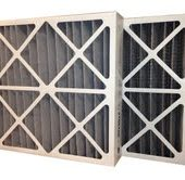 20 x 24 x 4 MERV 11 Odor Control Pleated Air Filter from USHomeFitler
