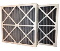 12 x 24 x 4 MERV 8 Odor Control Pleated Air Filter-0